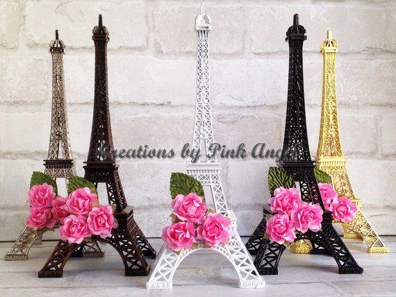 10 Inch Eiffel Tower Centerpiece For Paris Themed Birthday