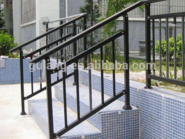 Black Aluminum Railings And Iron Railings On Pinterest