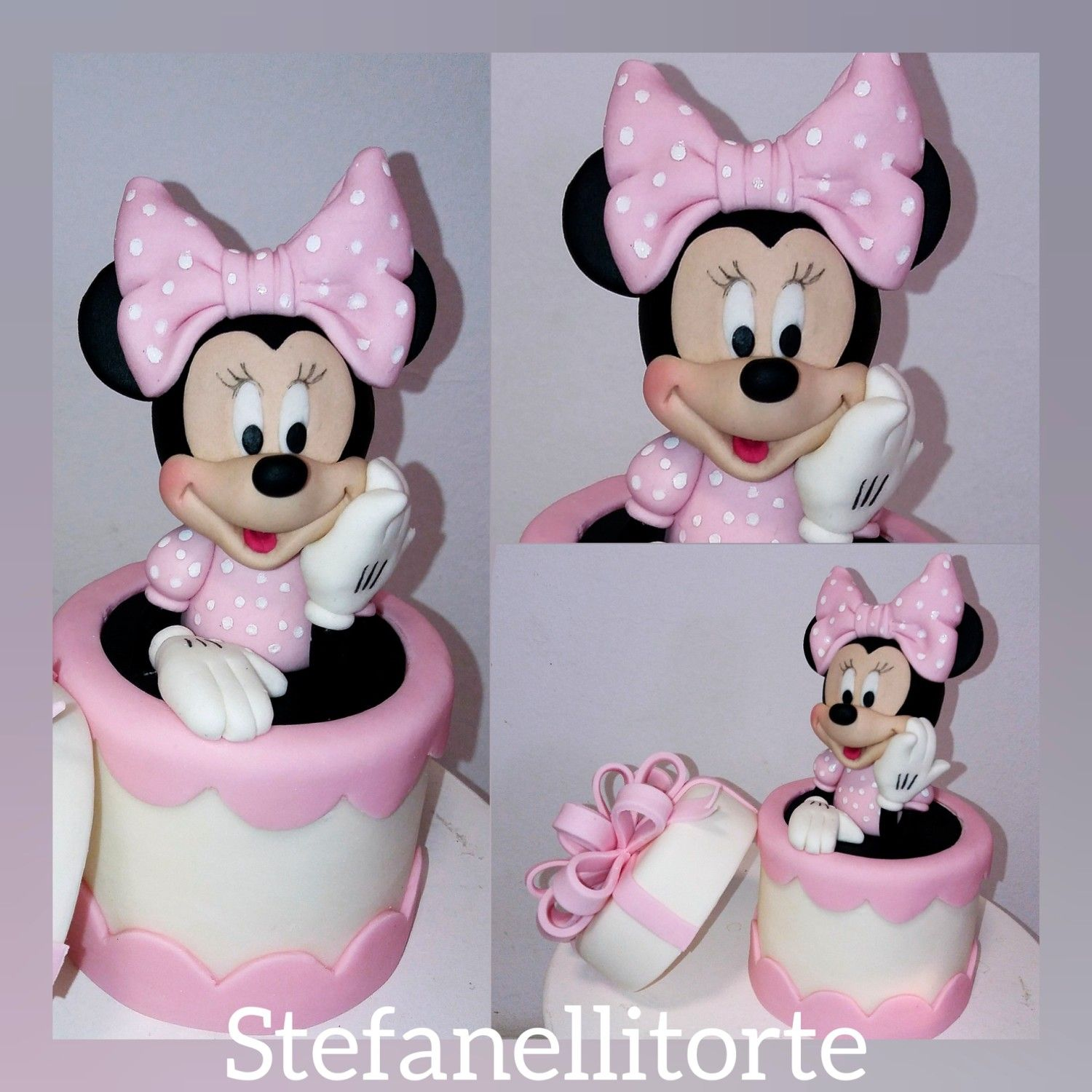 Minnie Mouse Cake Topper By Stefanelli Torte Minnie Mouse Cake Topper Minnie Mouse Cake Minnie Mouse