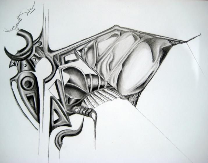 Cool abstract drawings cool abstract pencil drawings