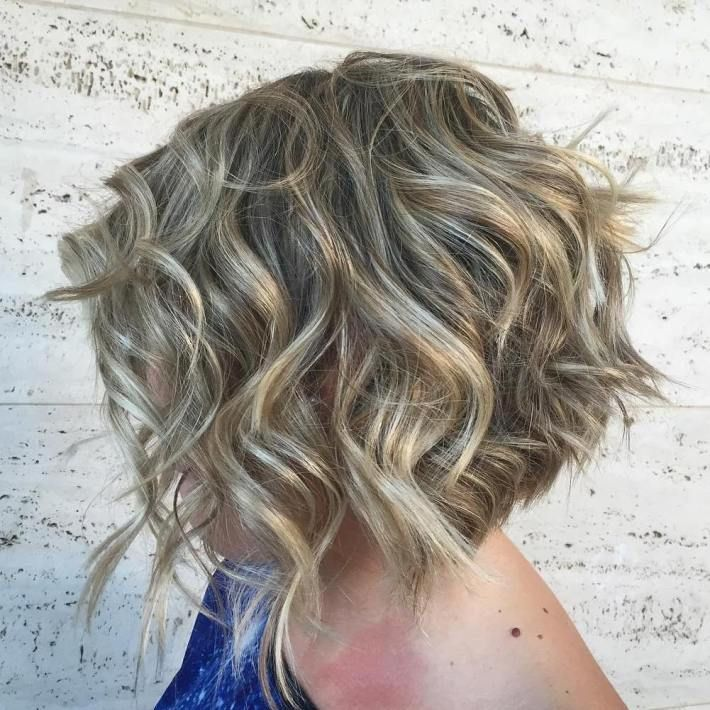 100 Mind Blowing Short Hairstyles For Fine Hair Curly Bobs And