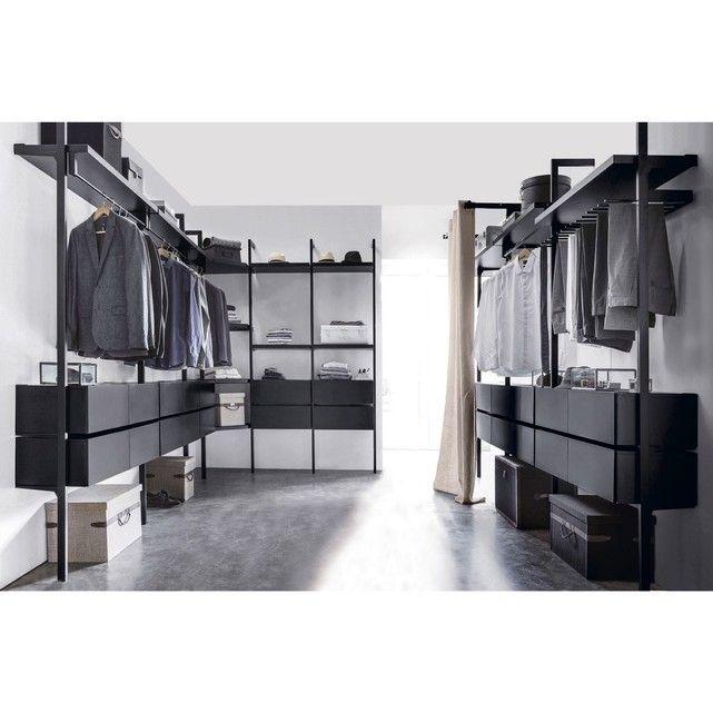 tiroir kyriel pour dressing rangement modulable syst me de rangement et querre. Black Bedroom Furniture Sets. Home Design Ideas