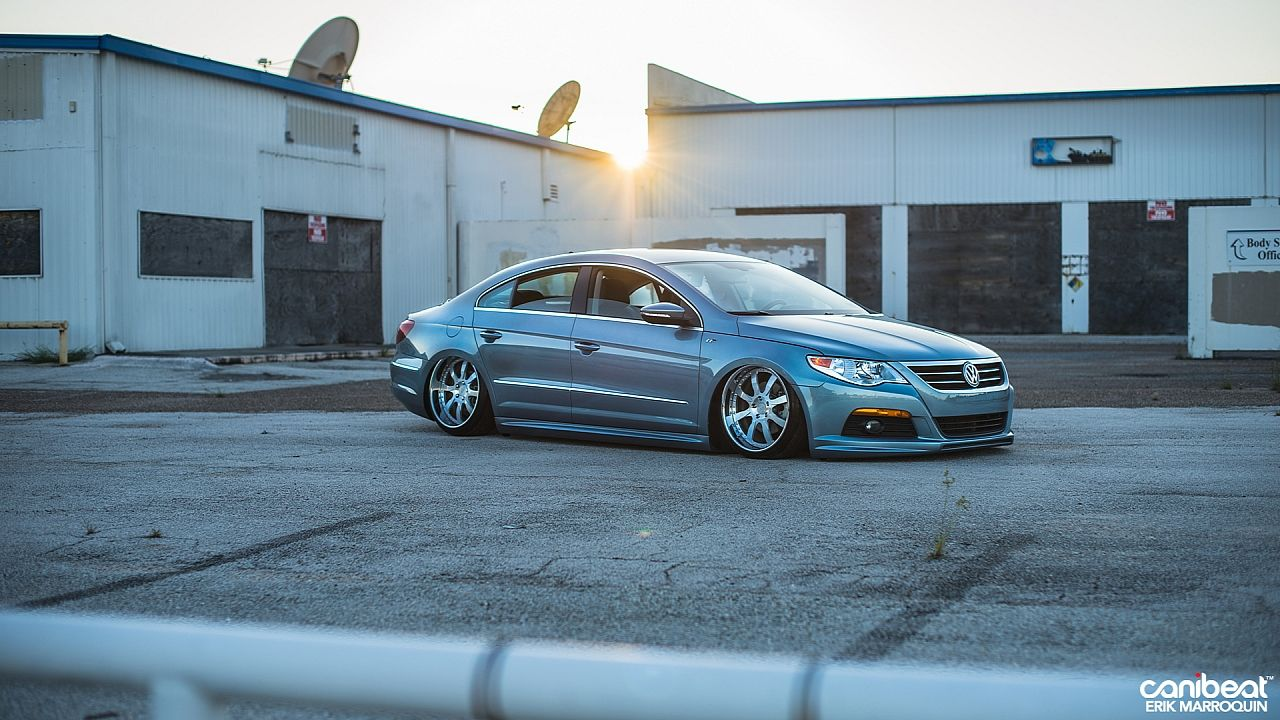 Stanced Volkswagen Pat Cc R Line Is A Vip Beauty