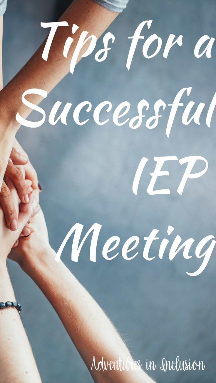 How To Have Successful Iep Meeting >> Tips For A Successful Iep Meeting Special Education Resources
