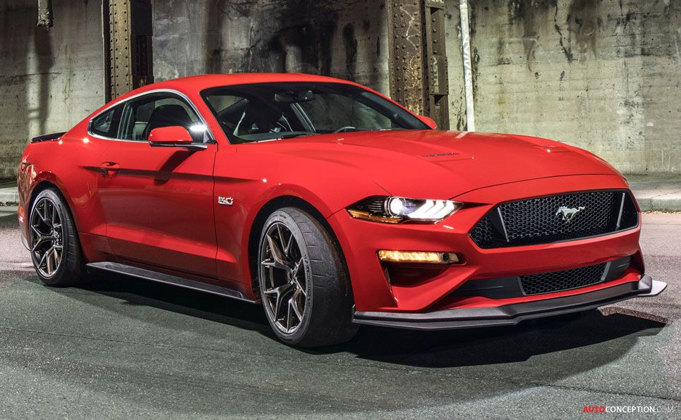 2018 Mustang Gt Gets More Aerodynamic With New Performance Pack