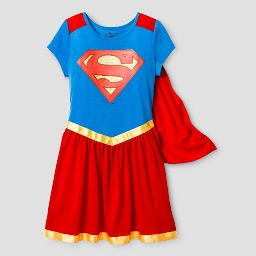 Girls' DC Super Hero Girls® Nightgown - Red