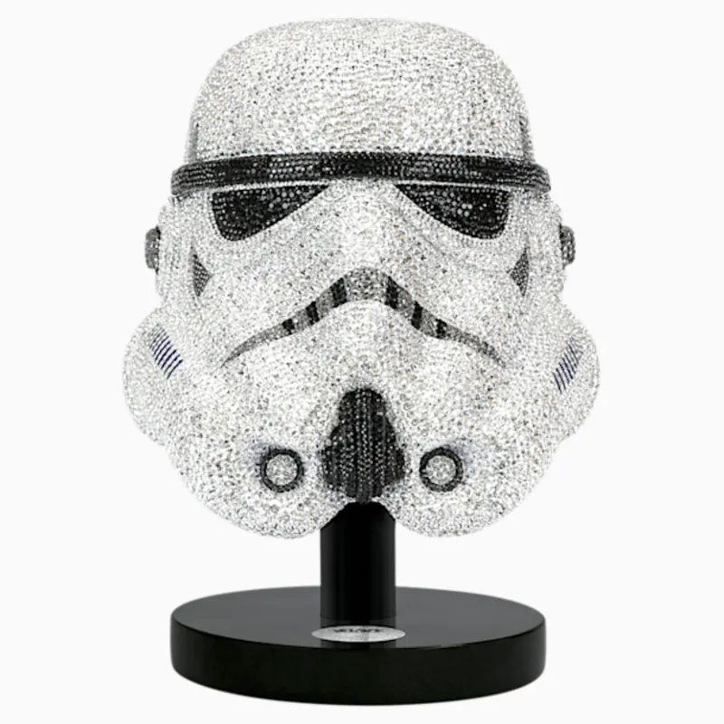 Star Wars Stormtrooper Helmet L E By Swarovski Stormtrooper Helmet Star Wars Stormtrooper Stormtrooper