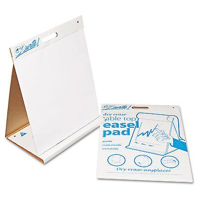 Art Paper 57208 Pacon Gowrite! Dry Erase Table Top Easel Pad 20 X - ebay spreadsheet