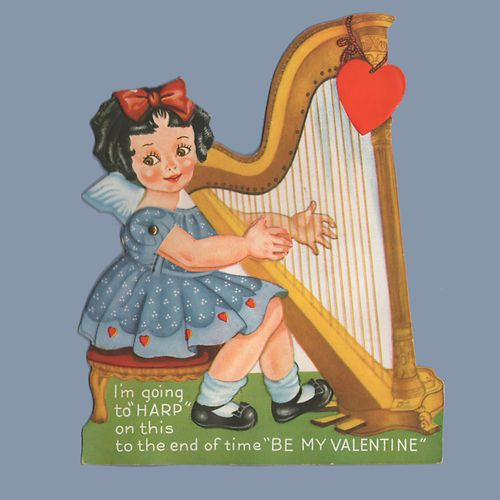 harping on the strings
