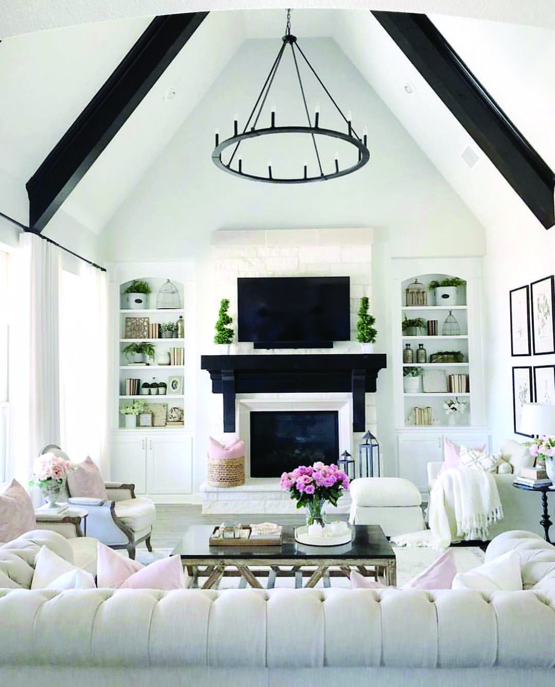 All White Living Rooms With Images Tiny House Living