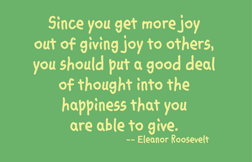 Eleanor Roosevelt Quote About Joy Words That Give Pinterest