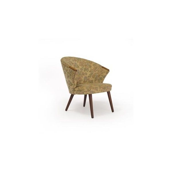 danish occasional chair Danish Teak Classics found on Polyvore