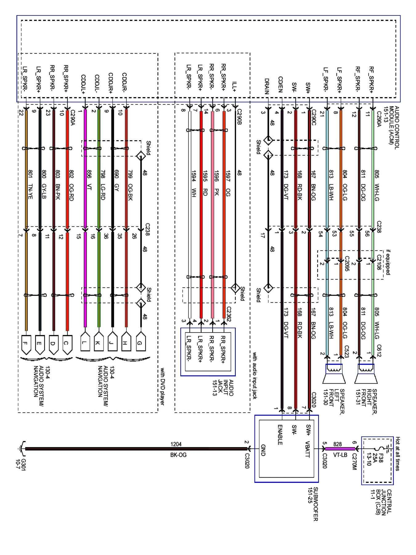 10 2004 Ford Explorer Car Stereo Wiring Diagram Car Diagram Wiringg Net Ford Expedition 2004 Ford F150 Diagram