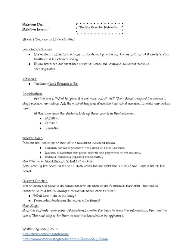 Health Lesson Plan Career Exploration Health Or Advisory Lesson