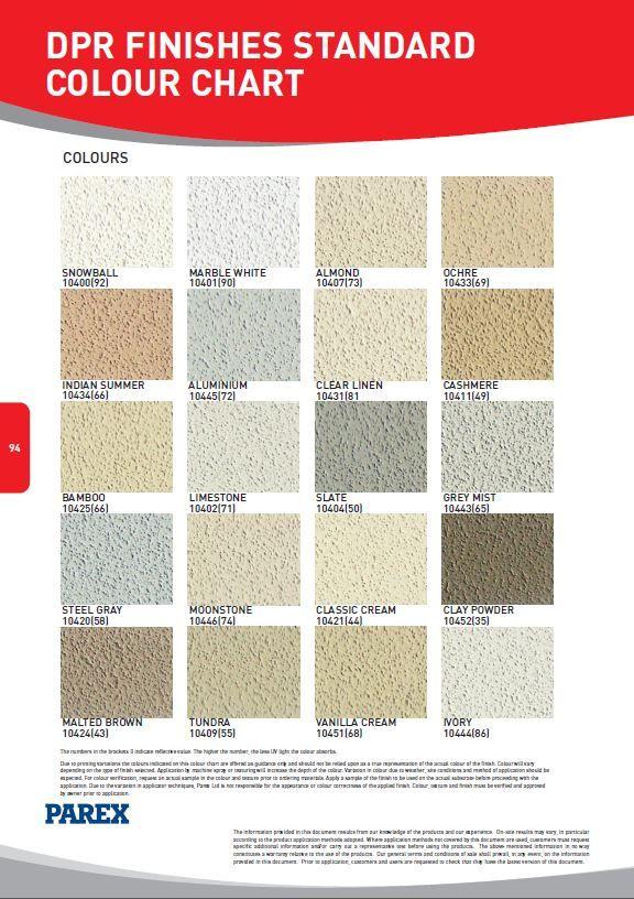Parex Render Colours Parex In 2019 Pinterest Doors