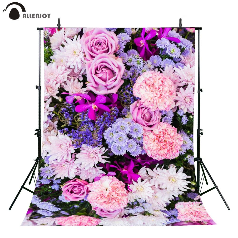 click to buy << allenjoy photographic background pink purple blue