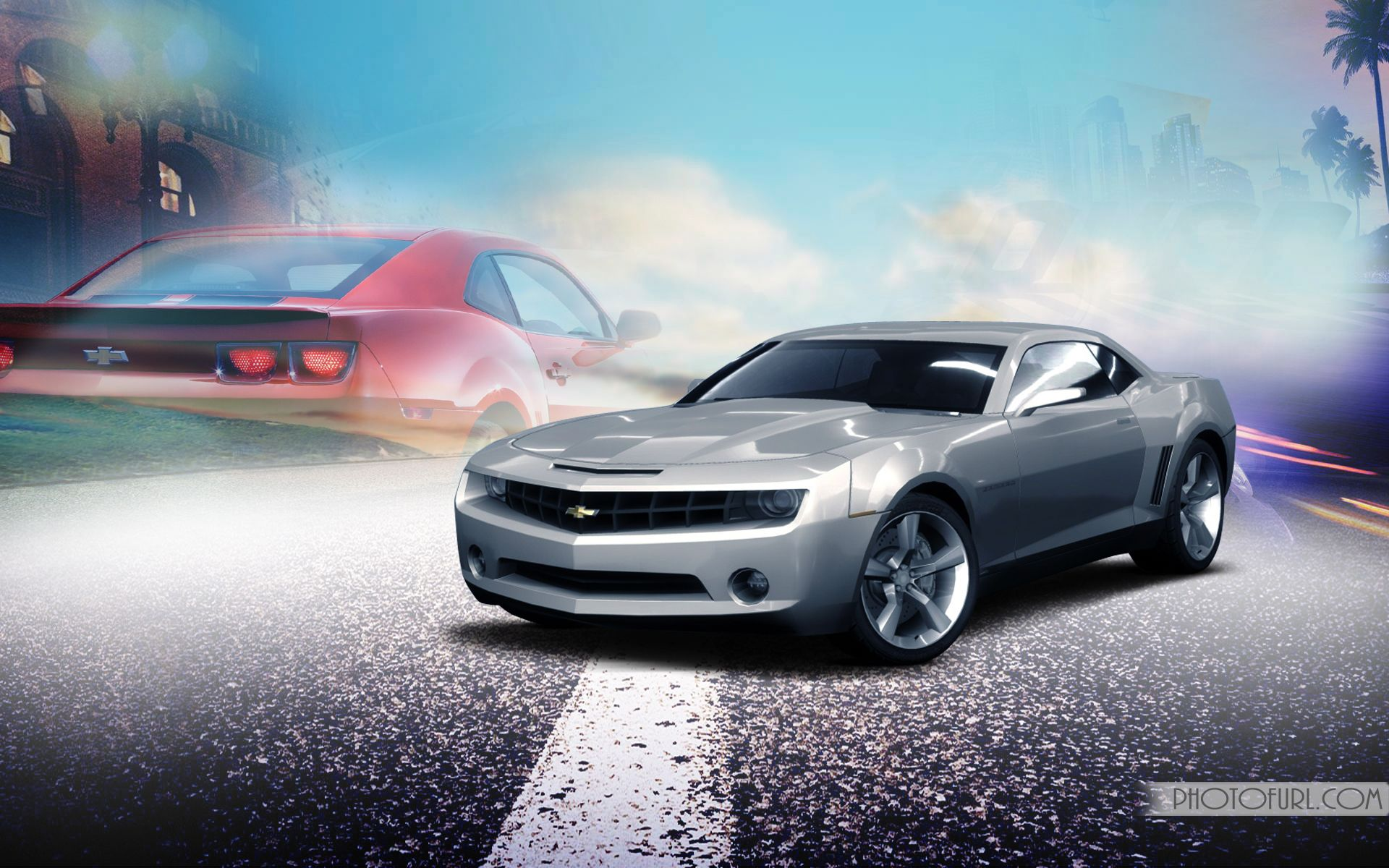 Free Camaro Screensavers Wallpapers Desktop Themes Camaro Car In