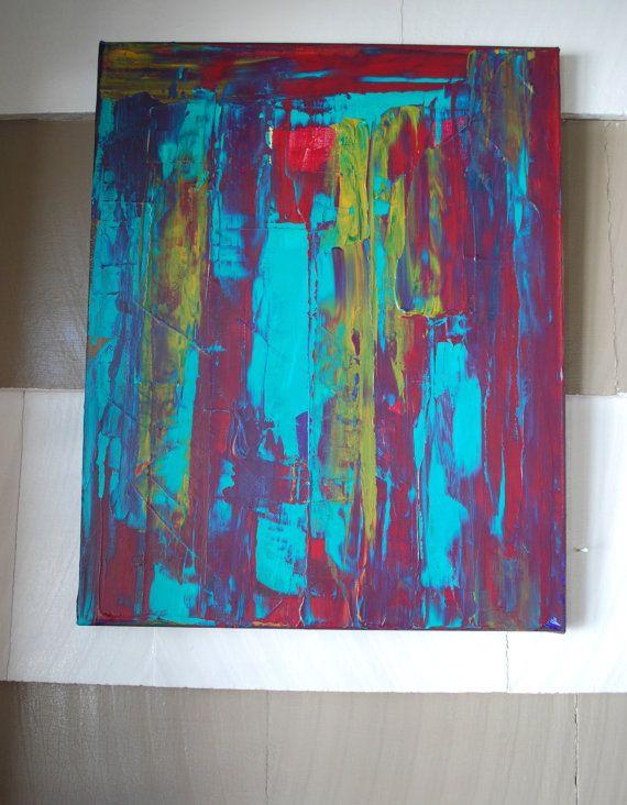Taste the rainbow abstract art