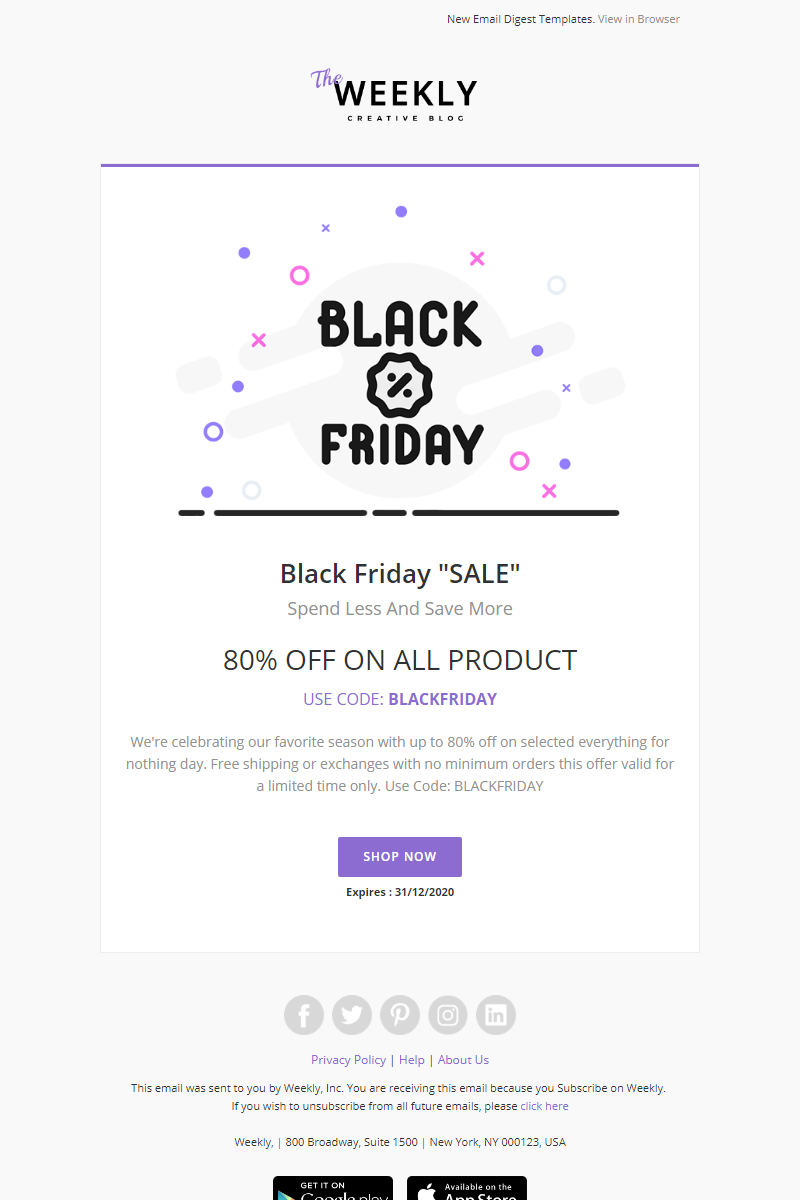 Pin By Premgohil On Newsletter Email Email Templates Newsletter Templates Templates