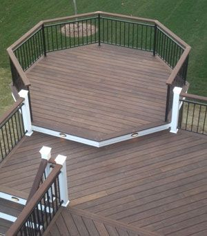 Get A Long Lasting Value For Your Decking By Using Bamboo Decking In 2020 Bamboo Decking House Exterior Two Level Deck