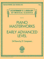 Piano Masterworks Early Advanced Level Sheet Music By Various Sheet Music Plus Piano Guitar Tabs Songs Musicals
