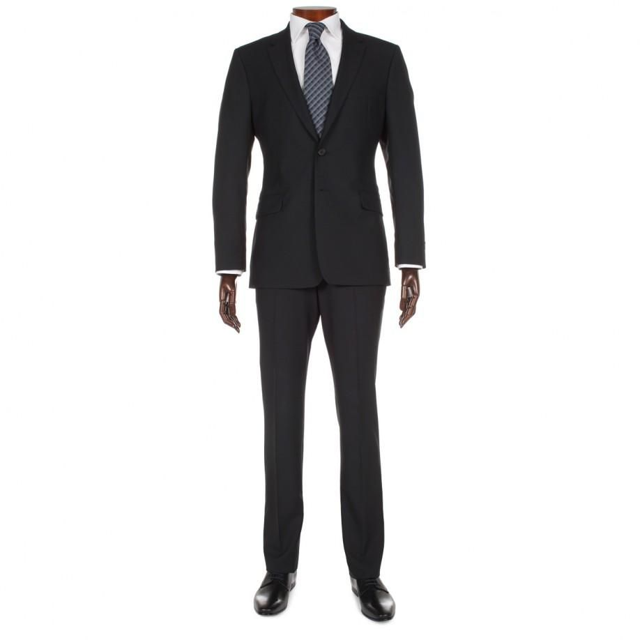 Paul Smith Suits | Black Floral Suit