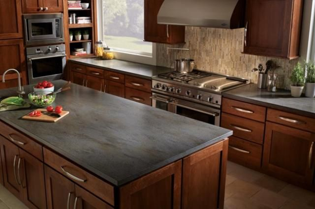 Slate Countertop On Pinterest Granite Tile Countertops