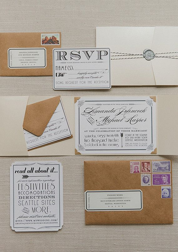 Stationery | Wedding and Party Ideas | 100 Layer Cake