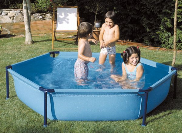 piscina infantil tubular
