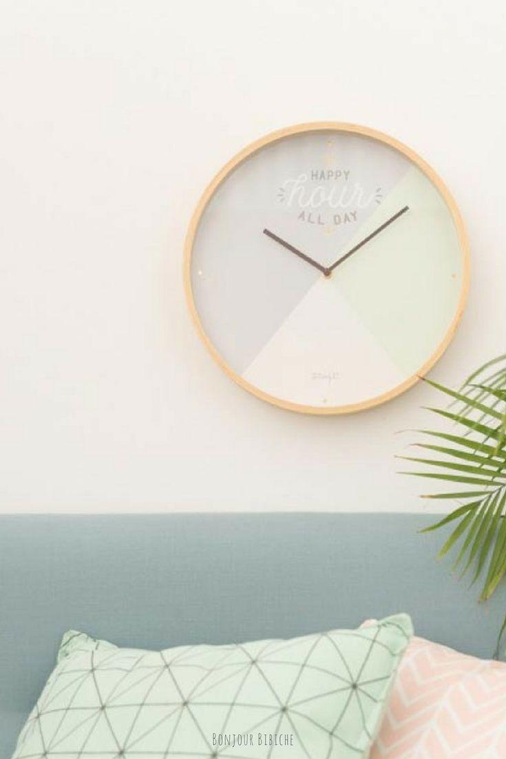 Horloge De Bureau Originale horloge pastel | horloge, horloge originale et horloge murale