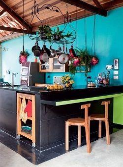 colores para pintar una cocina negro Ambientes Pinterest