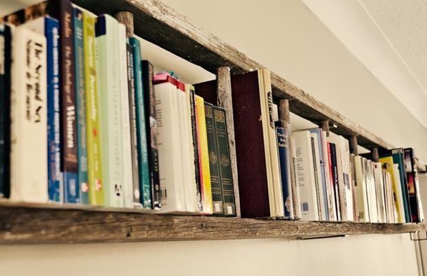 idea libreria scaffali legno - Cerca con Google