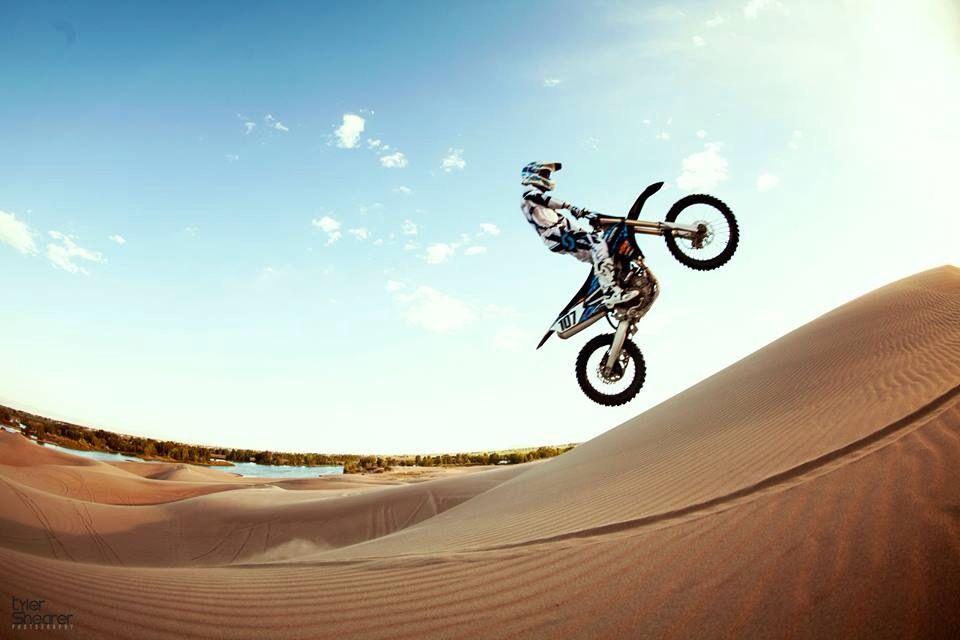 Dirt Bike Sand Dunes Portrait Session Photo Tyler Shearer