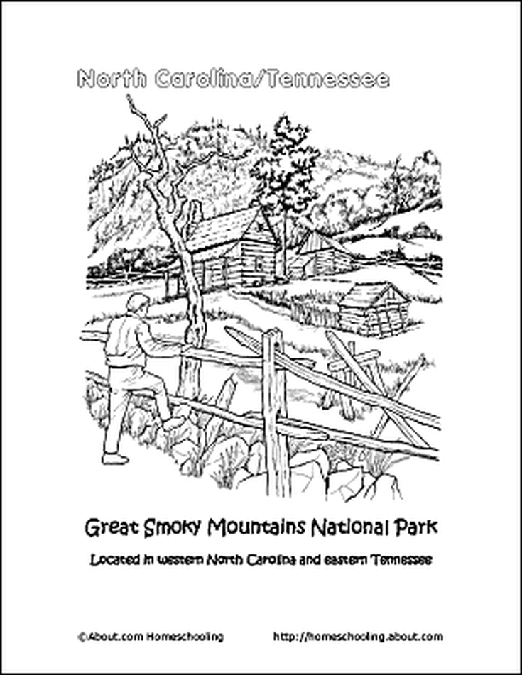 Learn About North Carolina With These Free Printables Coloring