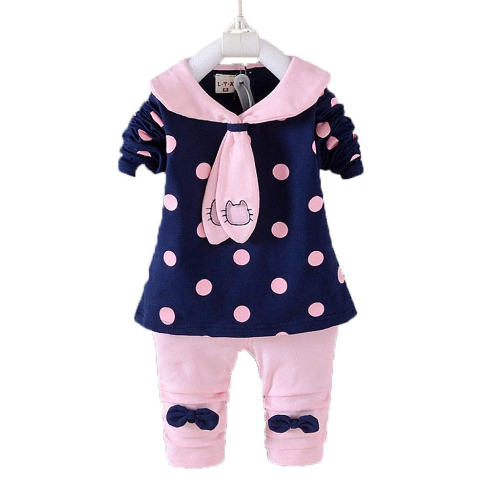73ff766936773 BibiCola Spring Baby girls clothing sets toddler baby girl clothes ...