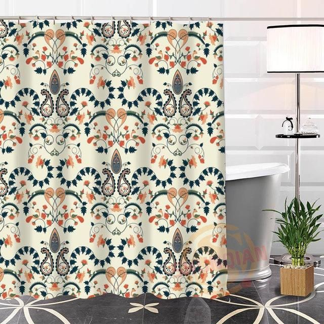 Nice Custom Indian Pattern Shower Curtain | Indian patterns, Nice ...