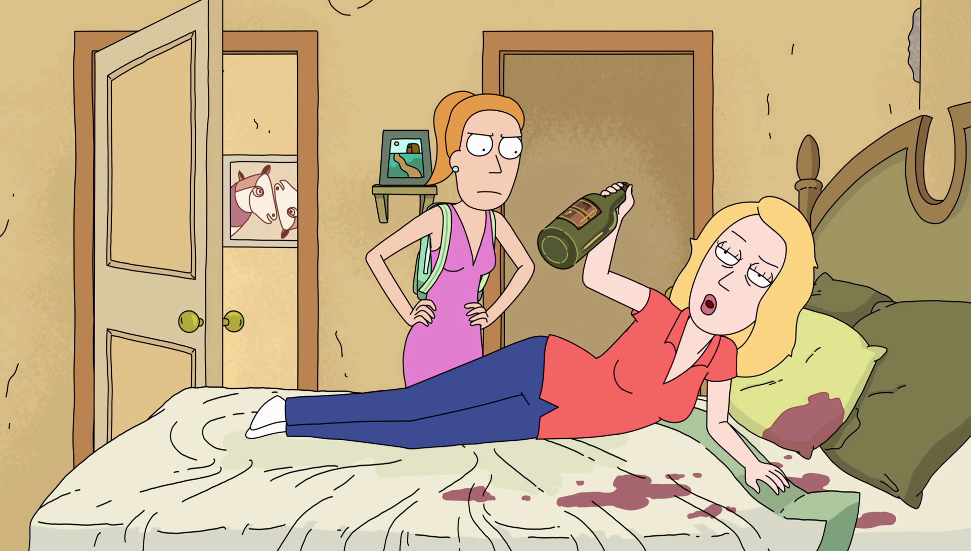 Image   S2e4 Drunk Beth.png | Rick And Morty Wiki | Fandom Powered .