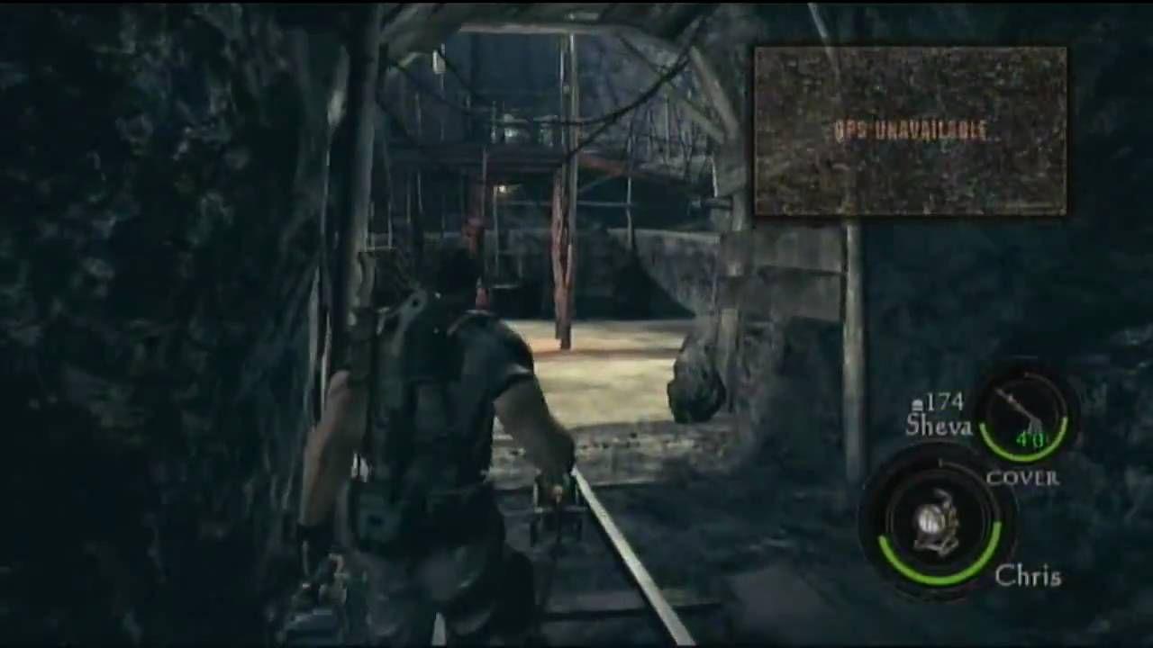Resident Evil 5 (Ch 2-2 Mine Battle! Pt. 2/4)