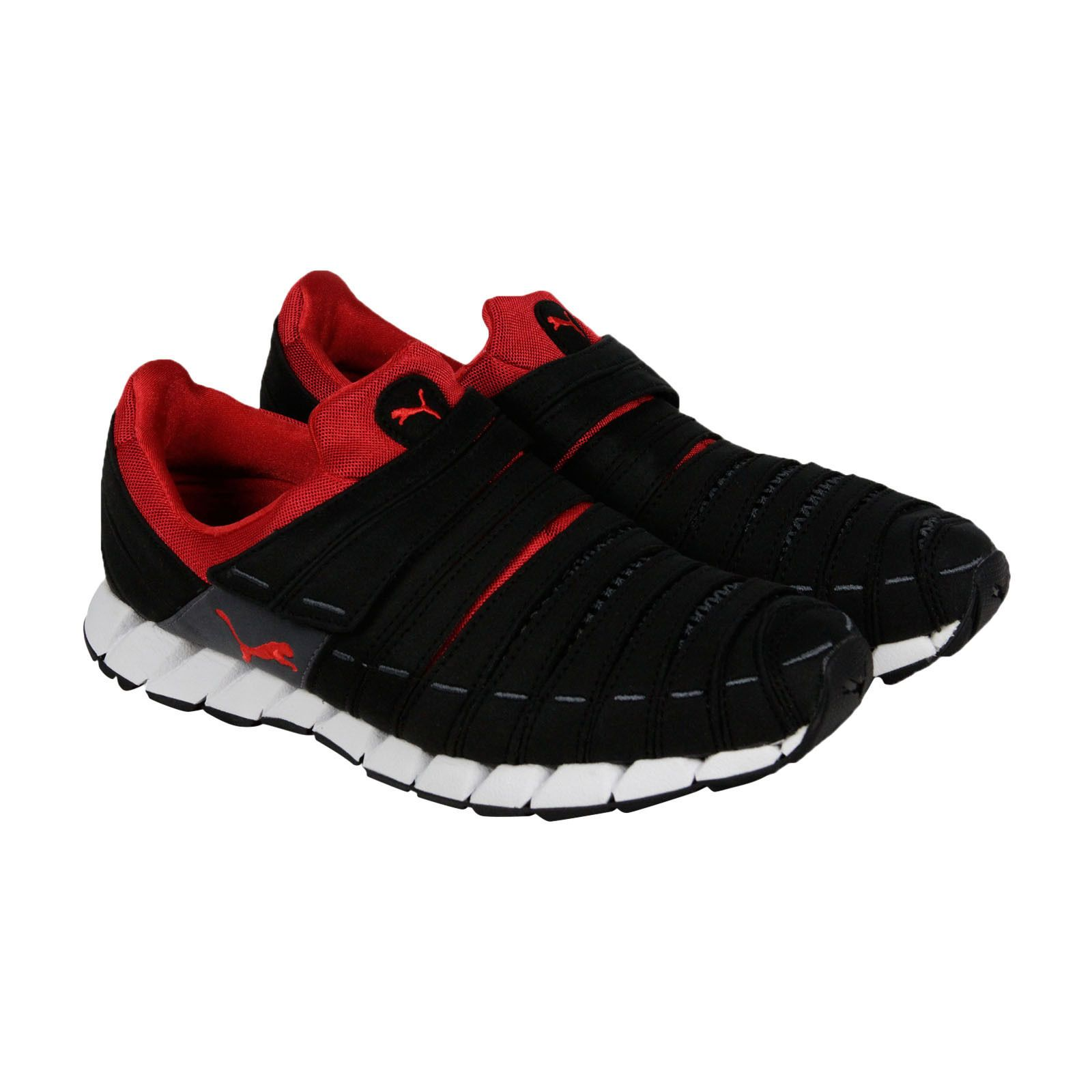 Puma Osu NM Mens Black Red Synthetic Athletic Slip On Running Shoes ... 0fee360a4