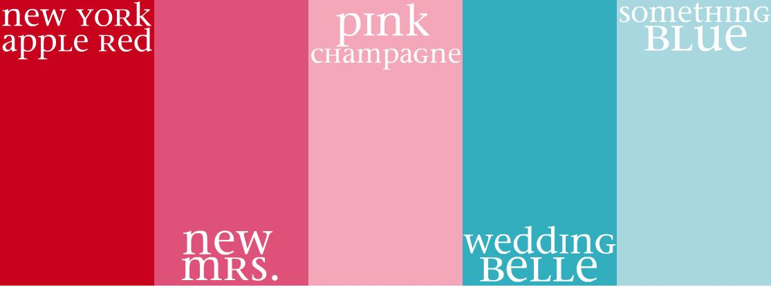Oh So Darling Color Palette Kate Spade Wedding Belles