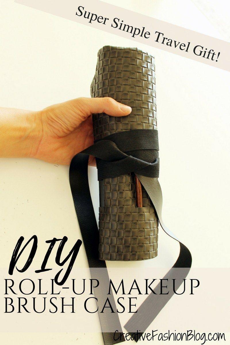 Easy DIY Makeup Brush Holder Diy makeup brush, Easy diy