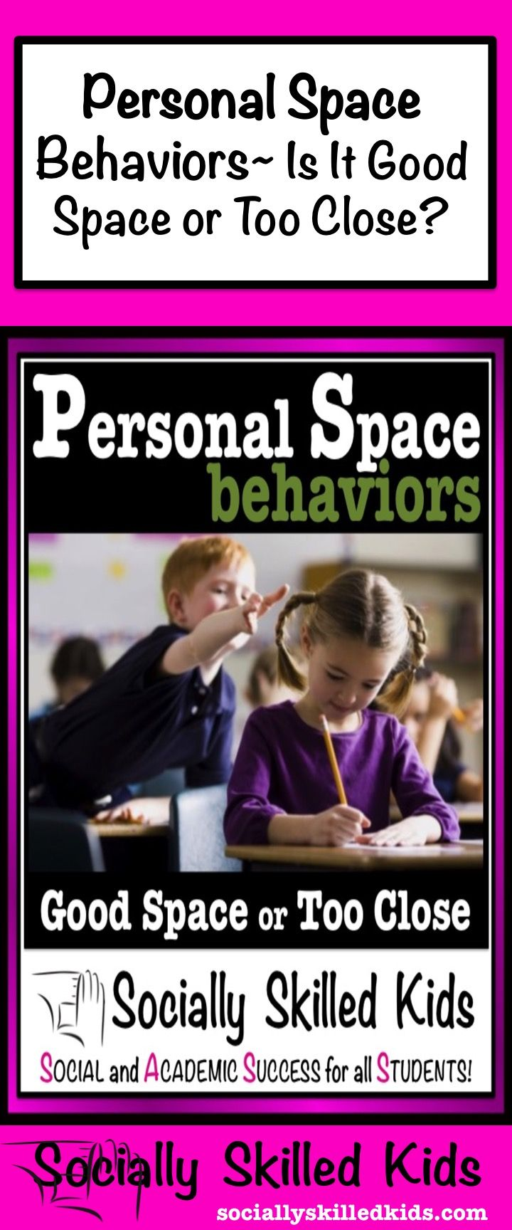 SOCIAL SKILLS Personal Space {Differentiated Activities and Stories