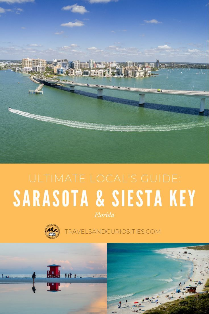 Guide To Sarasota Beaches: Live Like A Local In Sarasota And Siesta Key With This