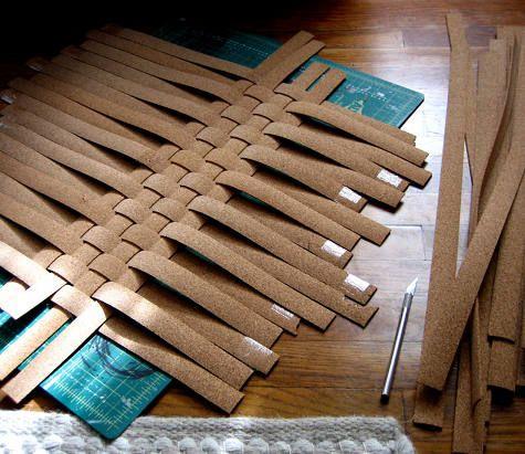 Practical DIY Woven Cork Ikea Skala Tray Awesome Ideas
