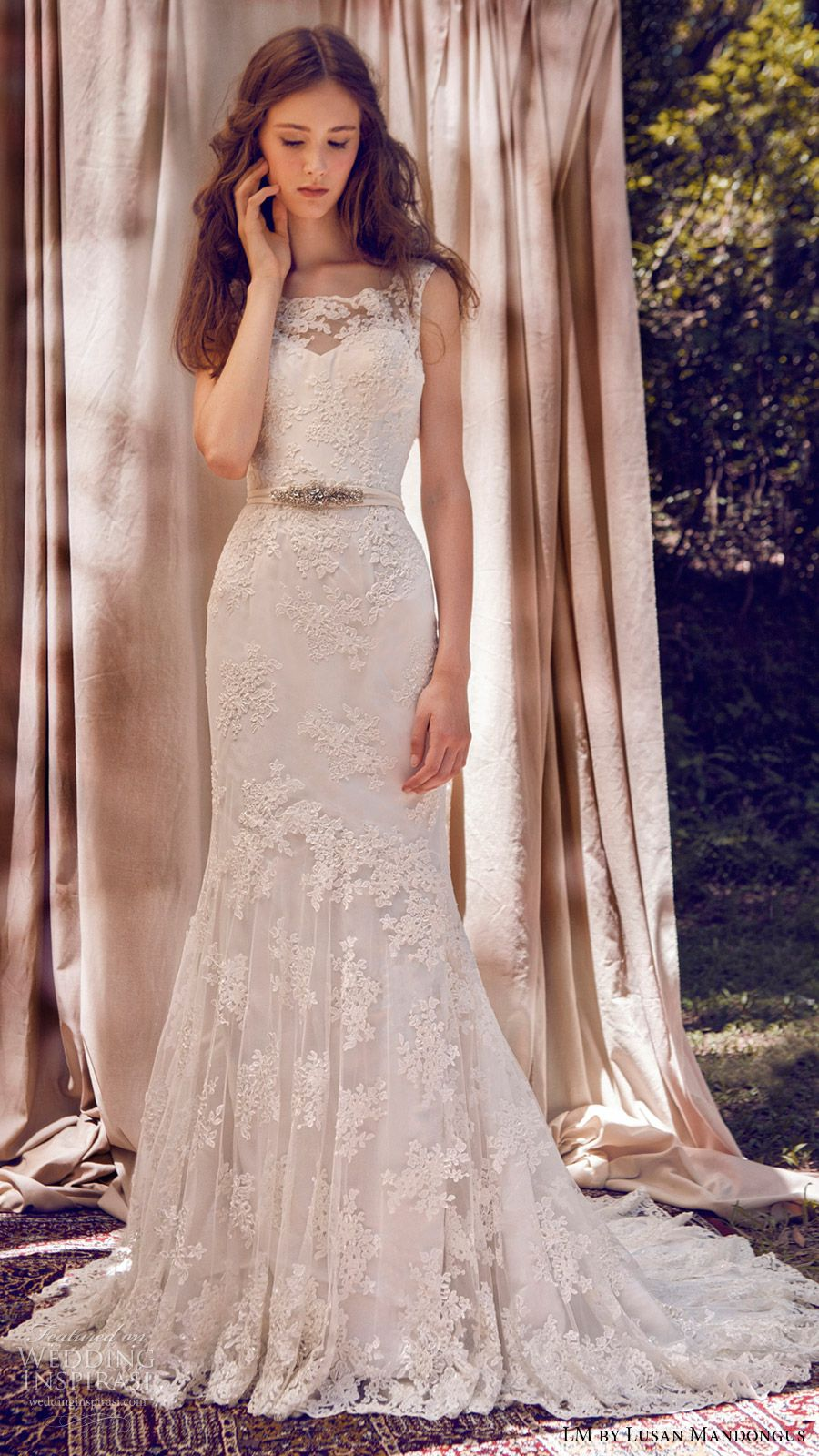 LM by Lusan Mandongus 2017 Wedding Dresses   Novios, De novia y ...