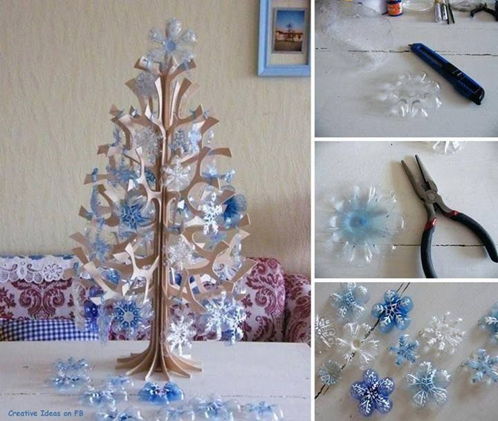 How To Make Pretty Christmas Tree With Plastic Bottles Step By DIY Tutorial Instructions Do Diy Crafts It Yourself