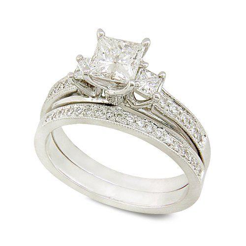 Princess Cut Wedding Rings, YES!