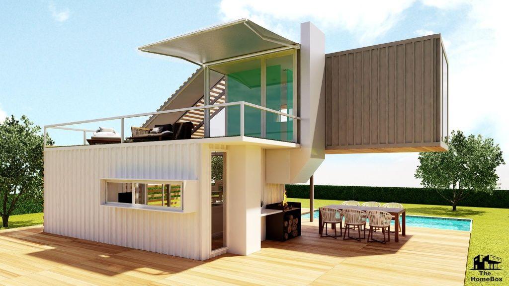 Modelo The HomeBox Minicasas casas prefabricadas de diseño exclusivo