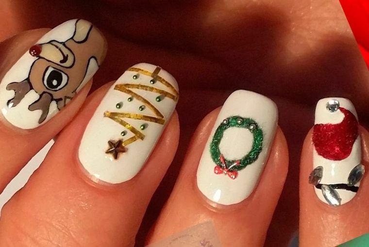 Stampa immagine!] Unghie Disegni Nail Art - Disegni da ...