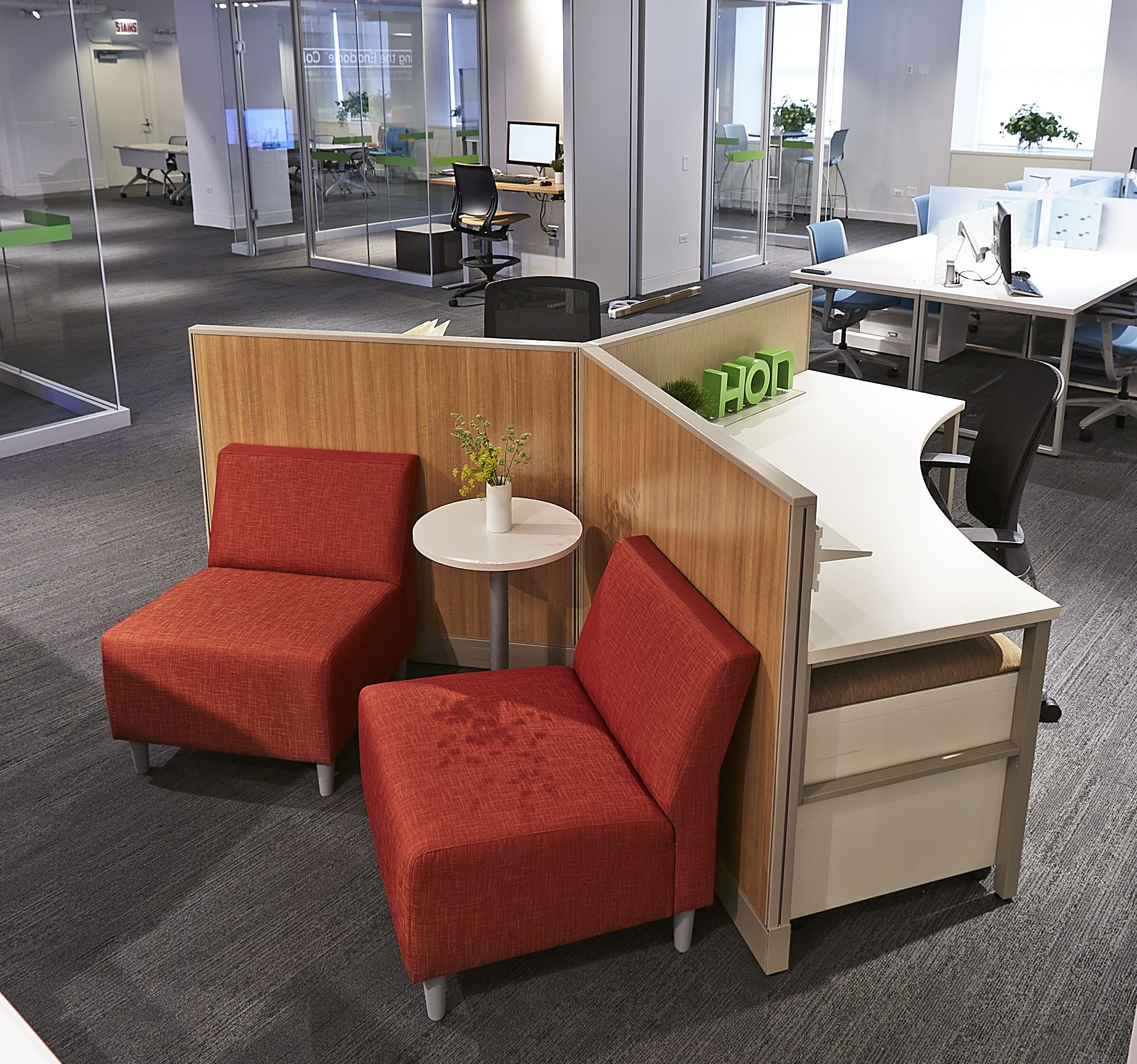 HON NeoCon 2014 Showroom Suite #1130, Merchandise Mart, Chicago. Showcasing  The Very. Hon Office FurnitureOffice ...